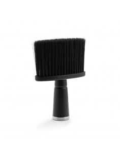 BRATT oprašovák na vlasy s rúčkou čierny, umelý vlas