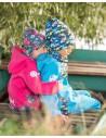 Unuo chlapčenská softshellová bunda Autíčka