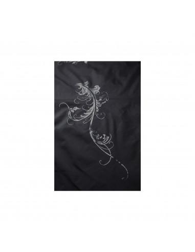 BRATT pláštenka na strihanie, 145x160 cm, čierna