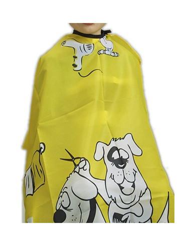 BRATT pláštenka na strihanie detská, 95x120 cm, žltá