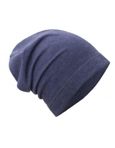 Unuo detská bavlnená čiapka Jeans melír