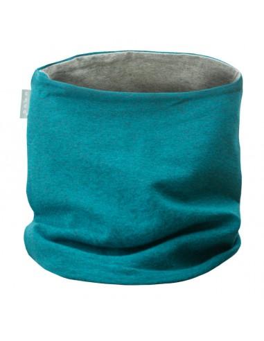 Unuo detský bavlnený nákrčník Aqua melír