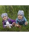 Unuo detská fleecová čiapka Metricon