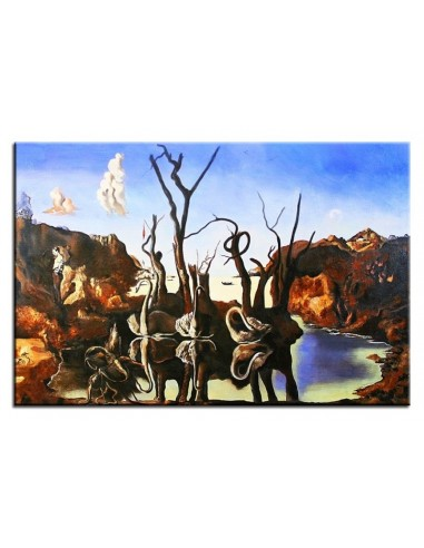 Obraz Salvador Dalí - Labute...