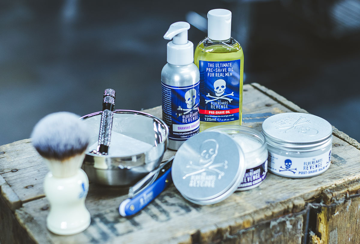 Bluebeards Revenge - doplnky na holenie