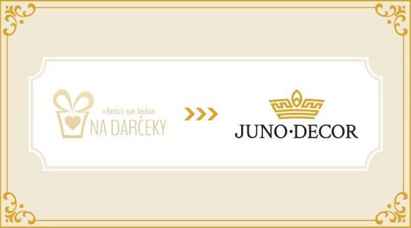 Nadarčeky sa menia na Juno Decor